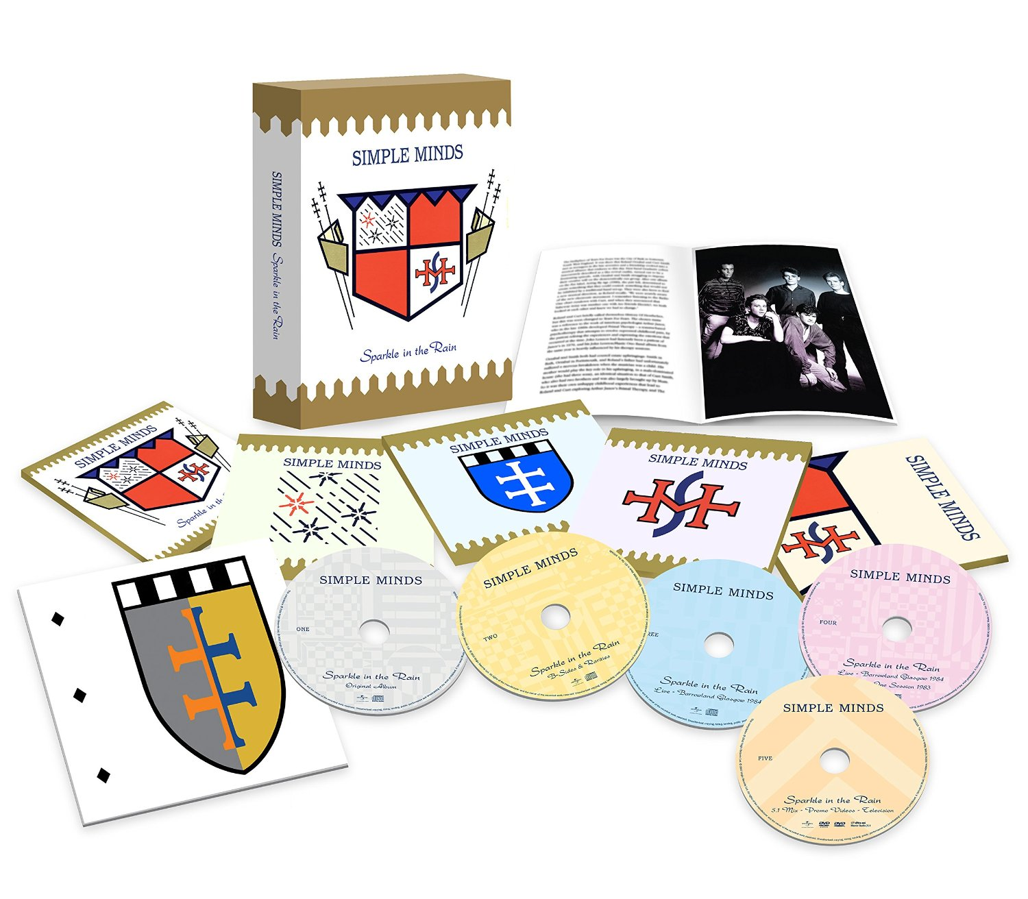 Simple Minds / Sparkle in the Rain five disc super deluxe edition box