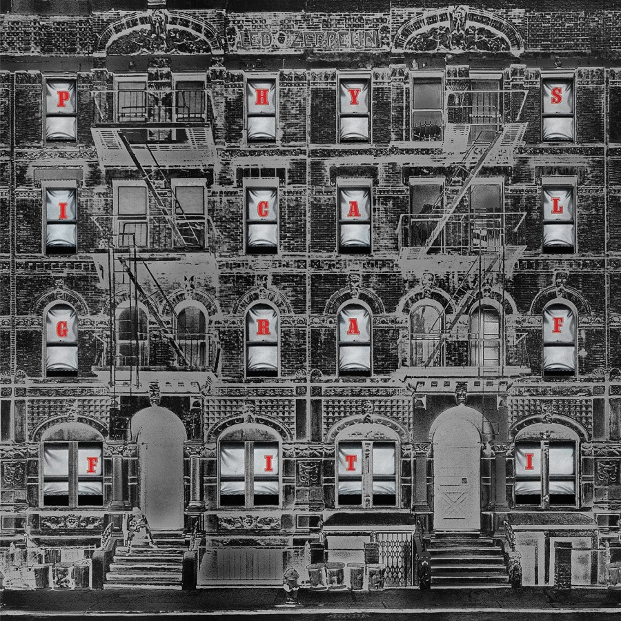 Led Zeppelin / Physical Graffiti reissue / negative artwork