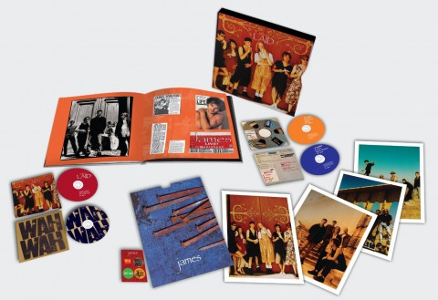 James / Laid and Wah Wah box set