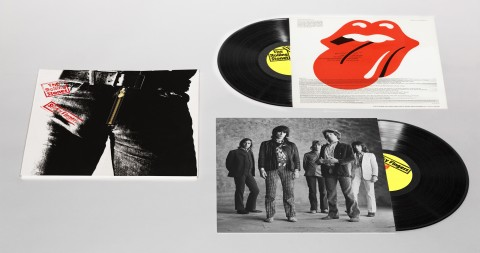 Sticky Fingers Deluxe Vinyl 3D mock up