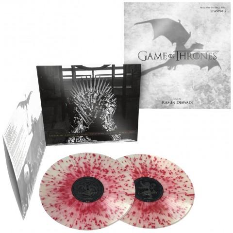 Game of Thrones / Season 3 blood splatter vinyl