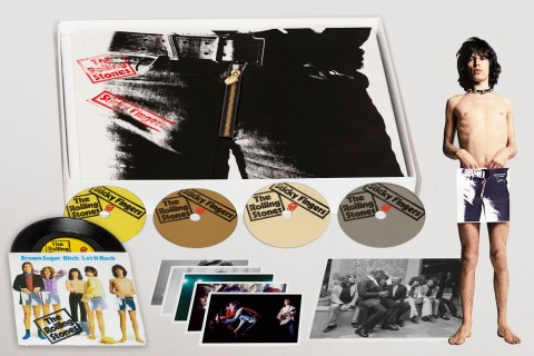 The Rolling Stones announce Sticky Fingers reissue and box sets