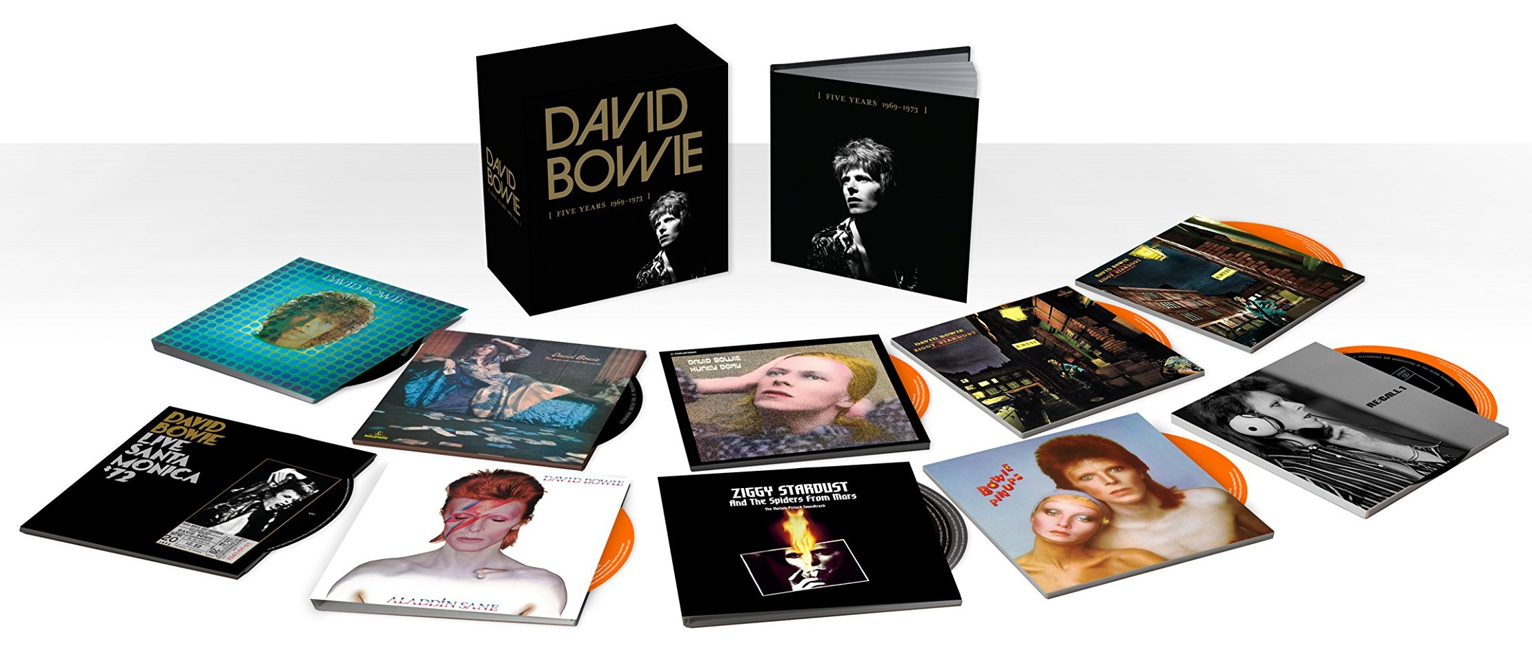 David Bowie / Five Years 1969-1973 CD box set
