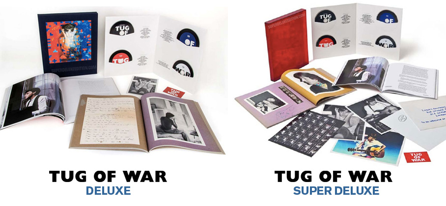 Tug of War / deluxe v super deluxe
