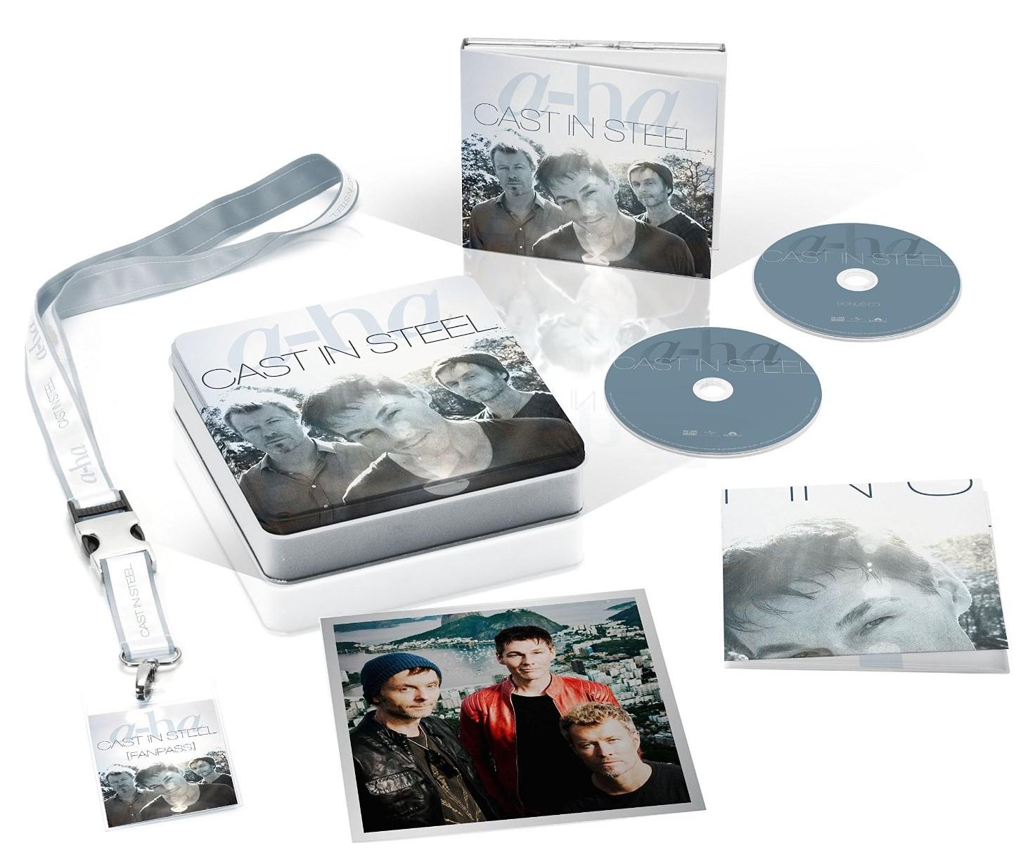 a-ha / Cast in Steel fanbox