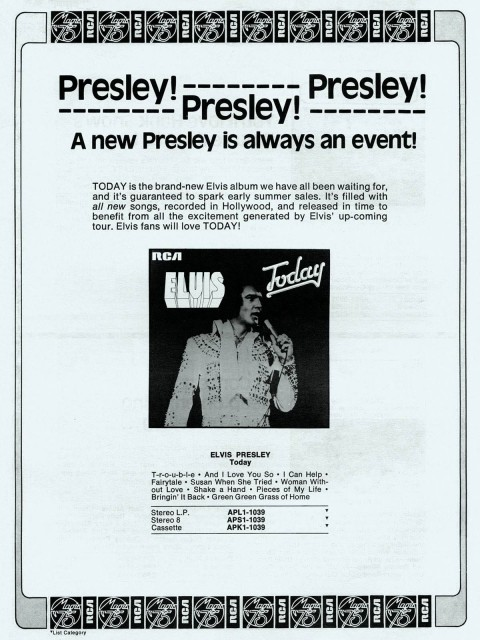 elvis today ad