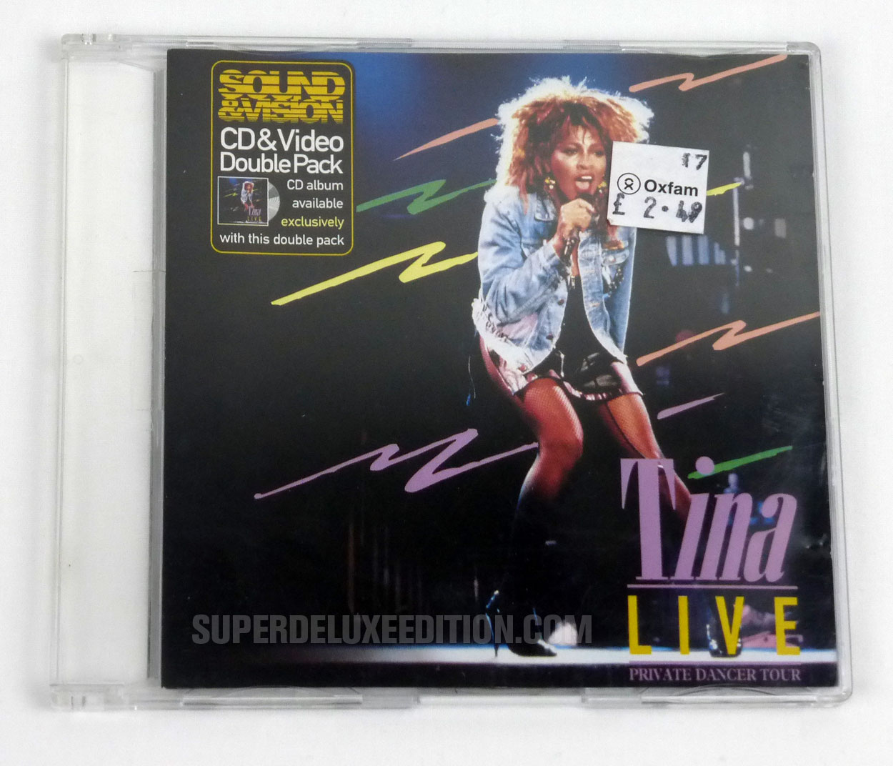 Tina Live! Sound&Vision CD