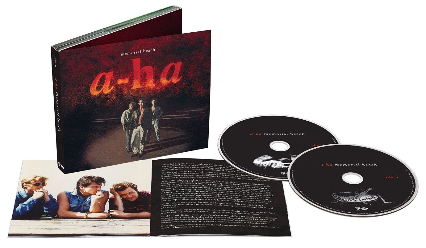 a-ha / Memorial Beach 2CD Deluxe Edition