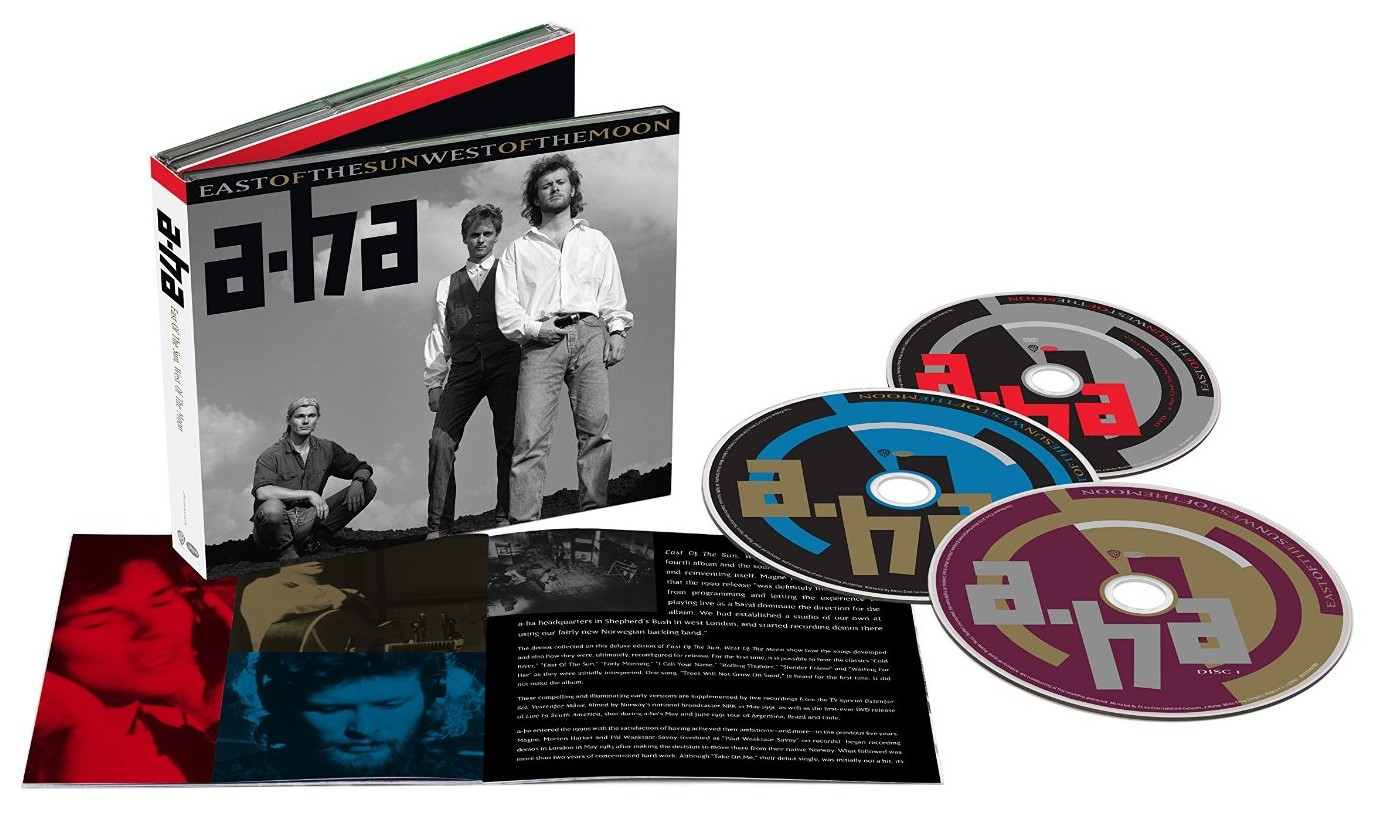 a-ha / East of the Sun West of the Moon 2CD+DVD Deluxe Edition