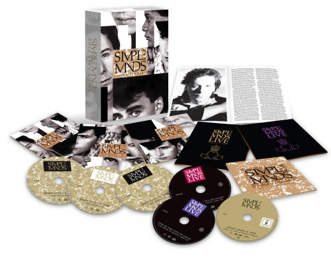 Simple Minds Once Upon A Time 3D