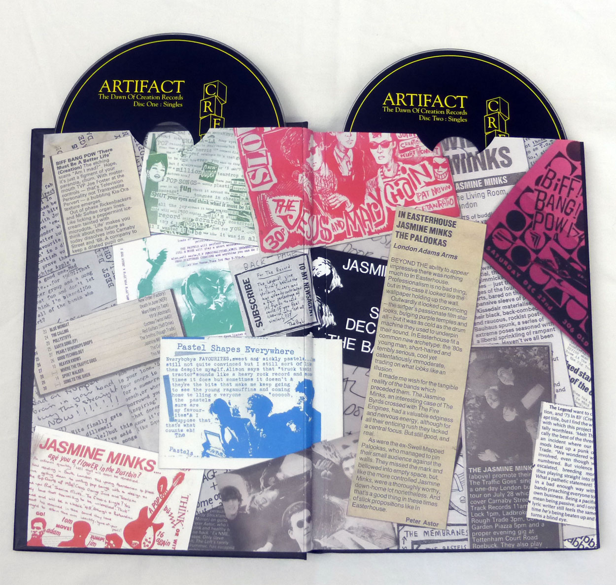 FIRST PICTURES / Artifact: The Dawn of Creation Records 5CD