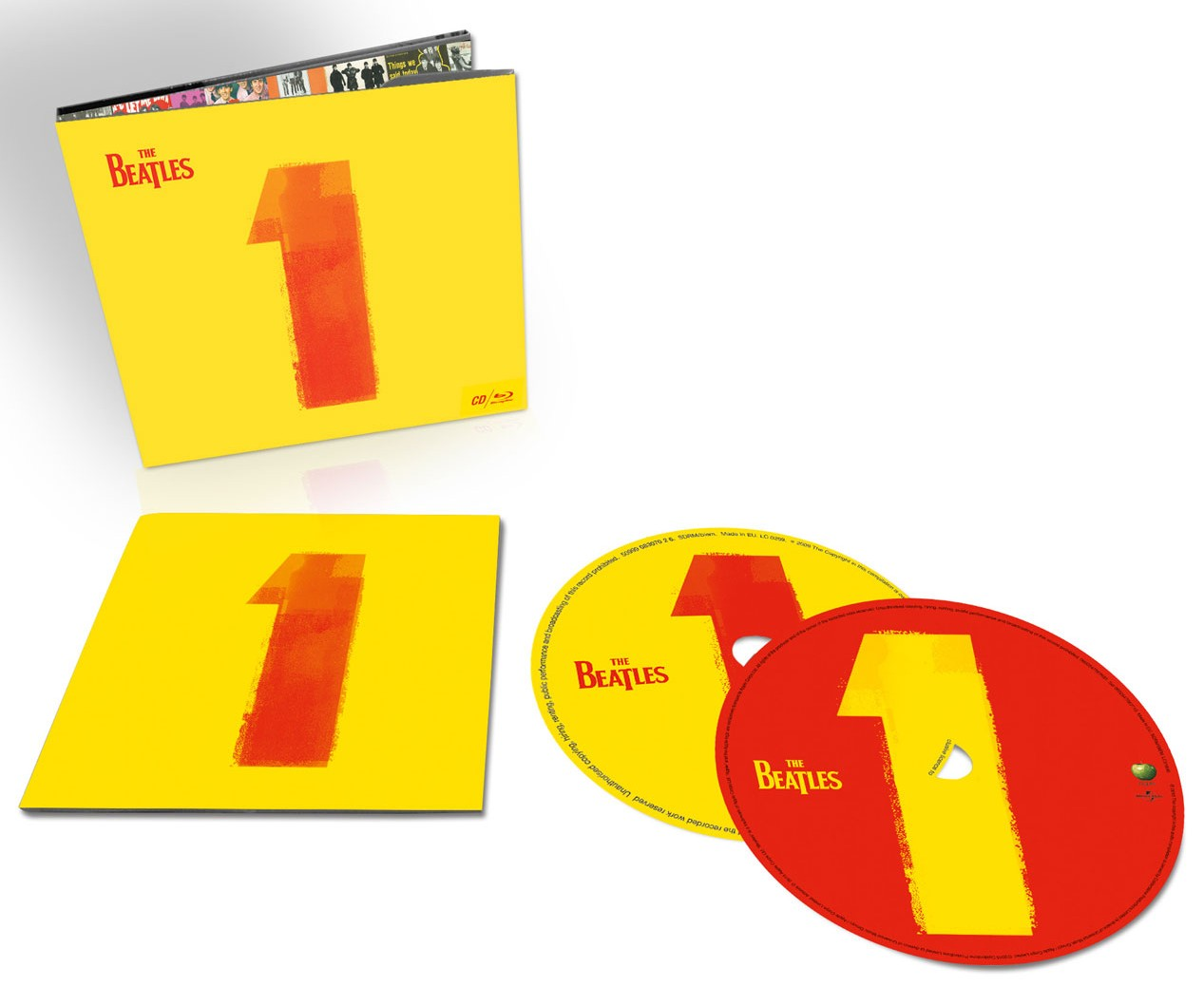 The Beatles / 1 CD+blu-ray with restored videos and remixed audio