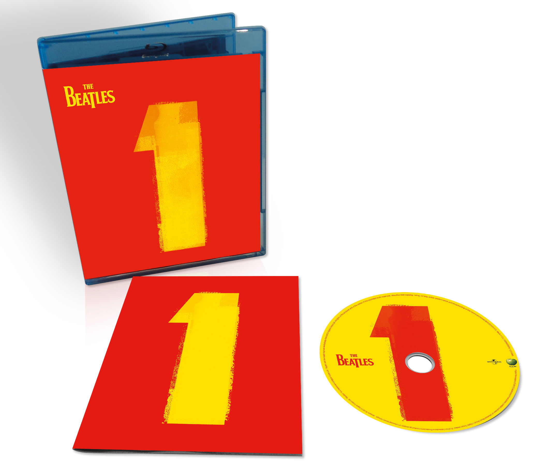 The Beatles / 1 blu-ray with restored videos and remixed audio
