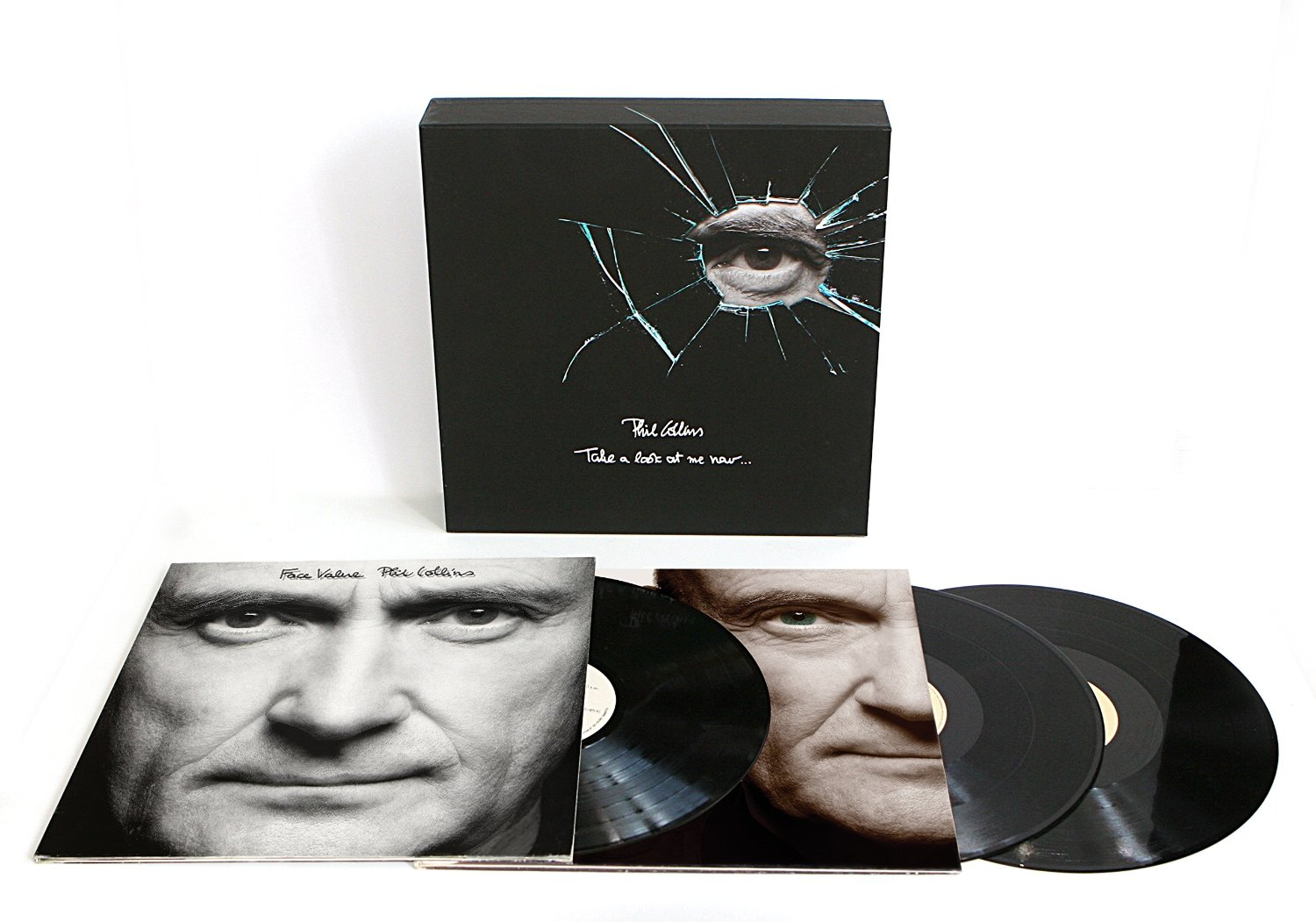 Phil Collins / Face Value and Both Sides 3LP Collector's Box Set