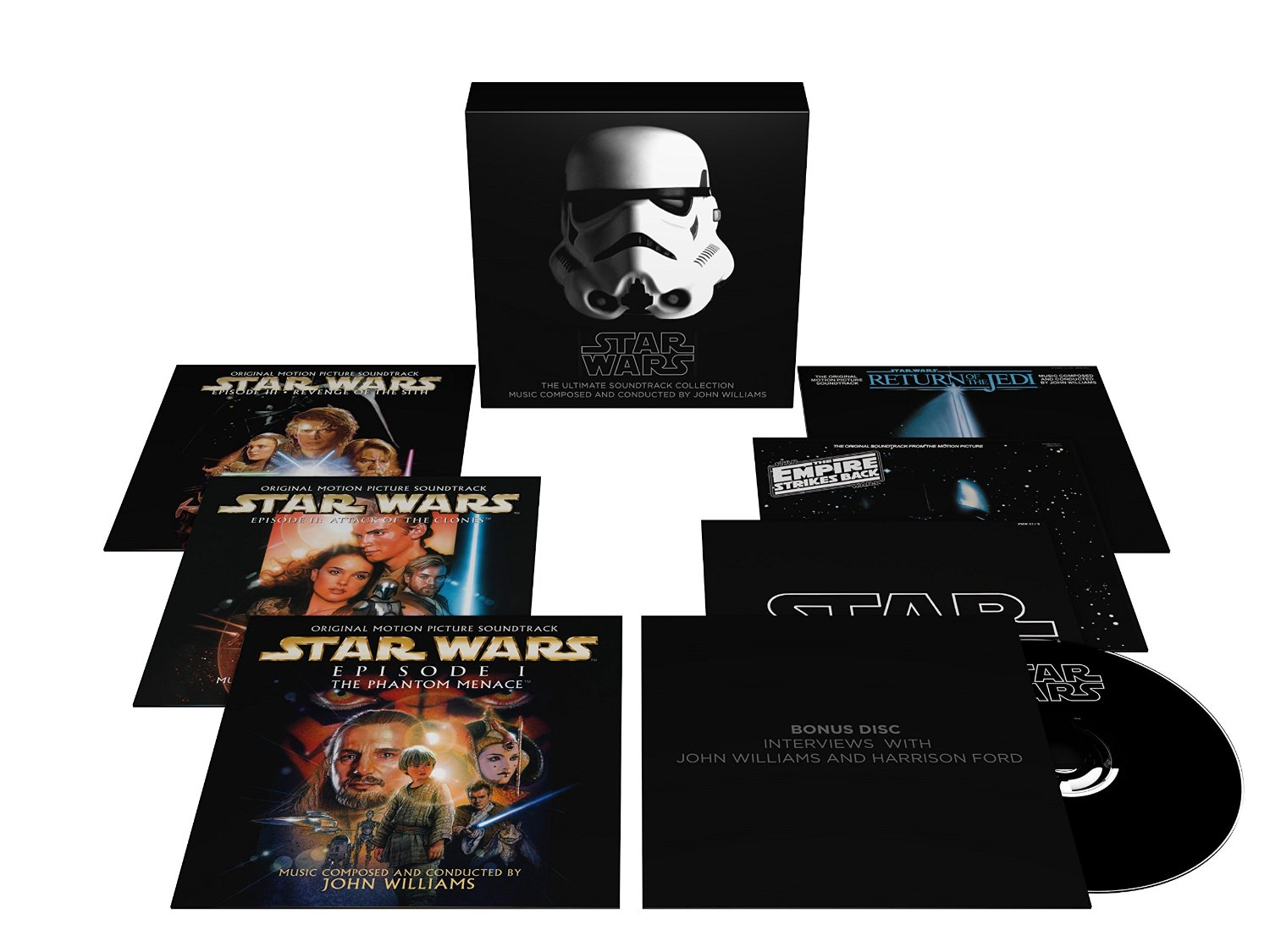 John Williams / Star Wars: The Ultimate Soundtrack Collection 10CD + DVD Box Set