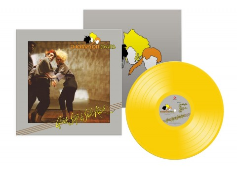 Thompson Twins / Quick Step & Sidekick / neon yellow vinyl LP