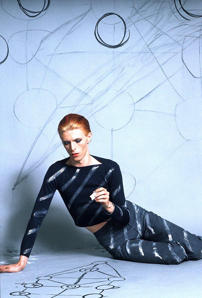 David Bowie photographed by Steve Schapiro
