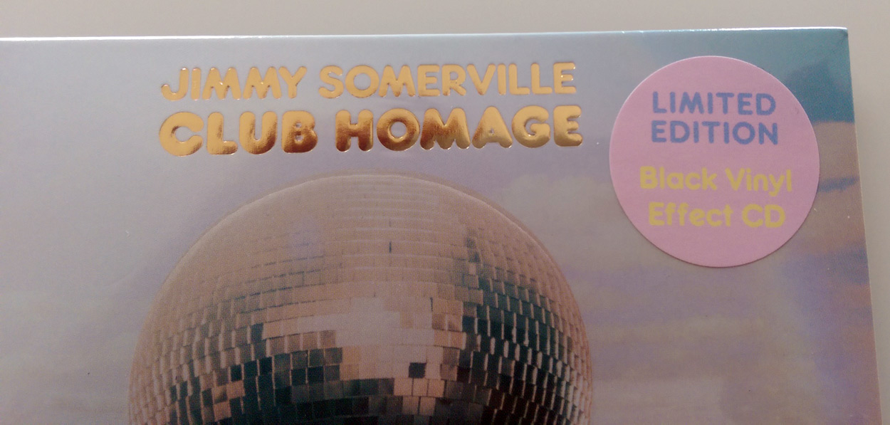Jimmy Somerville / Club Homage remix compilation