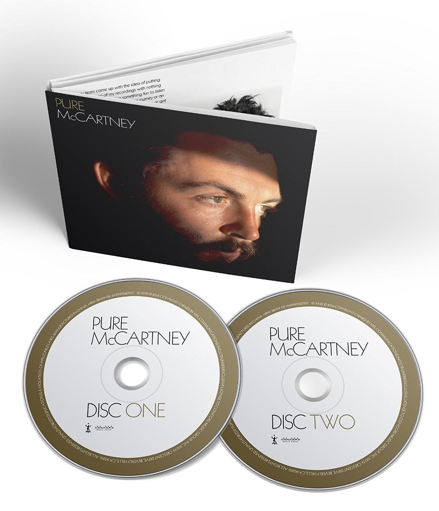 Paul McCartney / Pure McCartney 2CD packaging