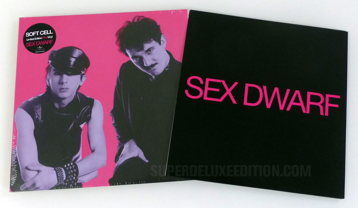 Soft Cell: Sex Dwarf pink vinyl 12-inch