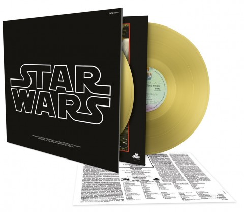 Star Wars: A New Hope: 2LP Gold Vinyl