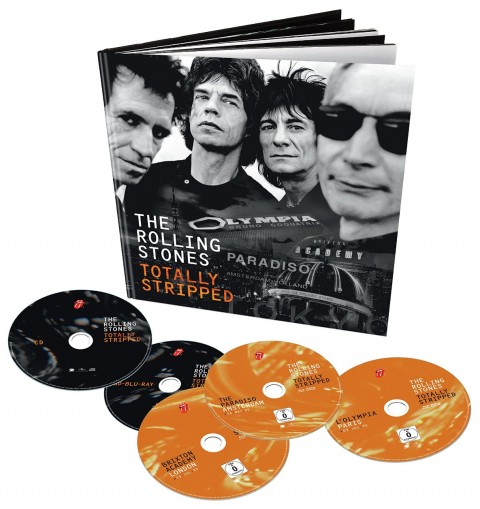 The Rolling Stones / Totally Stripped 4xblu-ray + CD deluxe