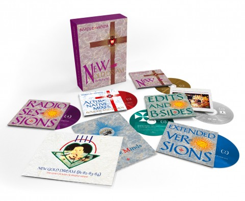 Simple Minds / New Gold Dream six-disc super deluxe edition box set