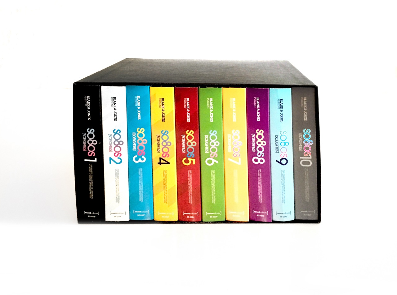 Blank & Jones / so80s box set