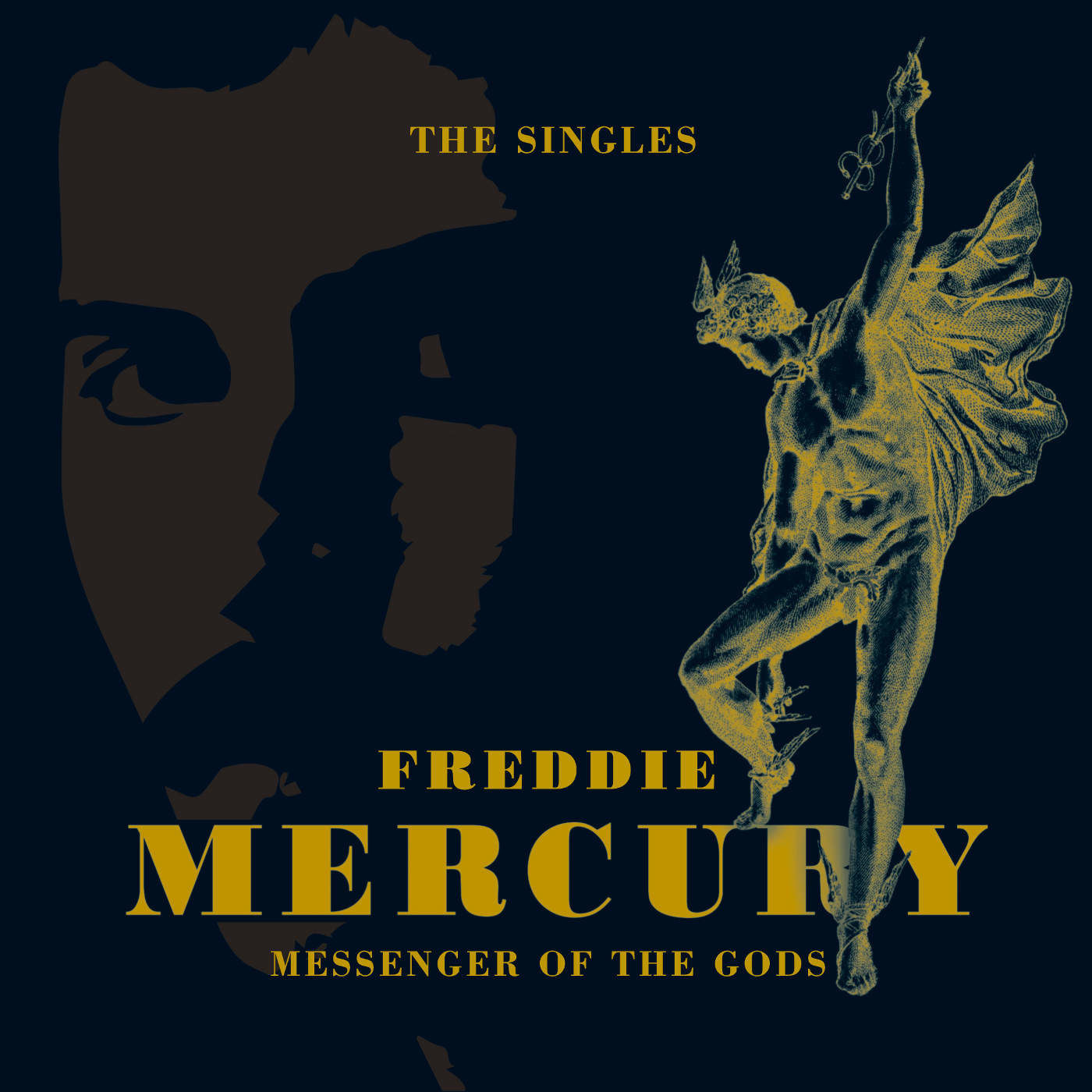 "Freddie Mercury / Messenger Of The Gods: The Singles 7"" vinyl box"