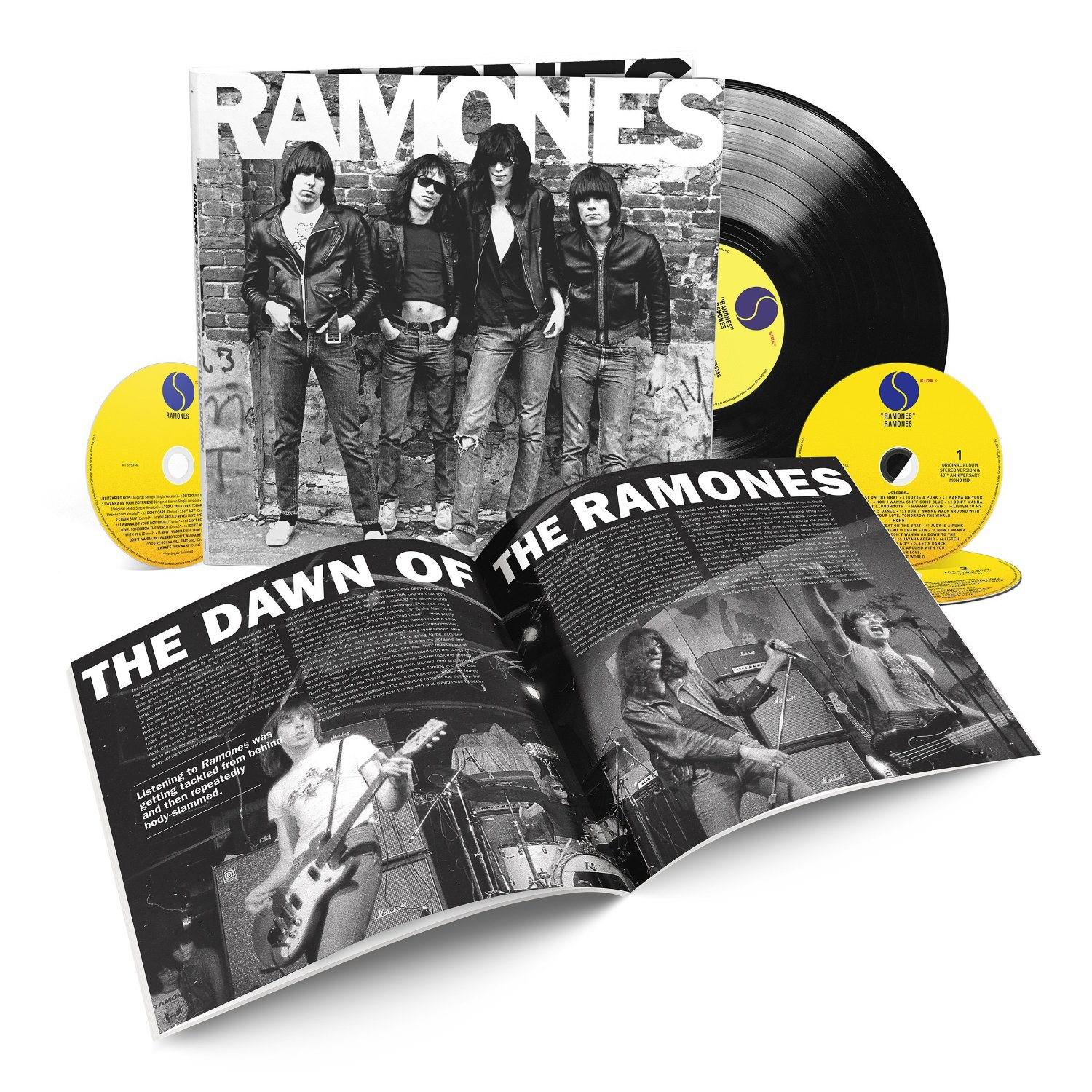 Ramones / 40th anniversary deluxe edition