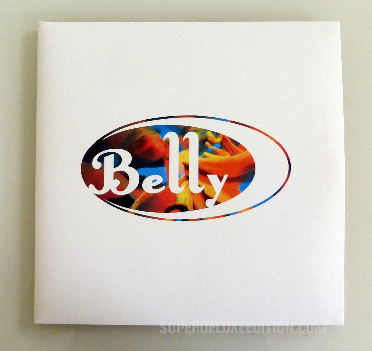 Belly / Star 2LP gatefold white marbled vinyl edition