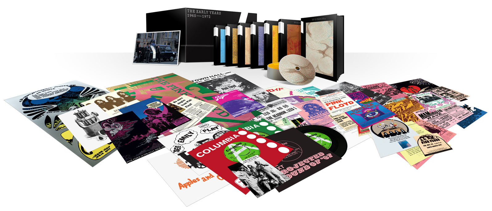 Pink Floyd / The Early Years 1965-1972 box set