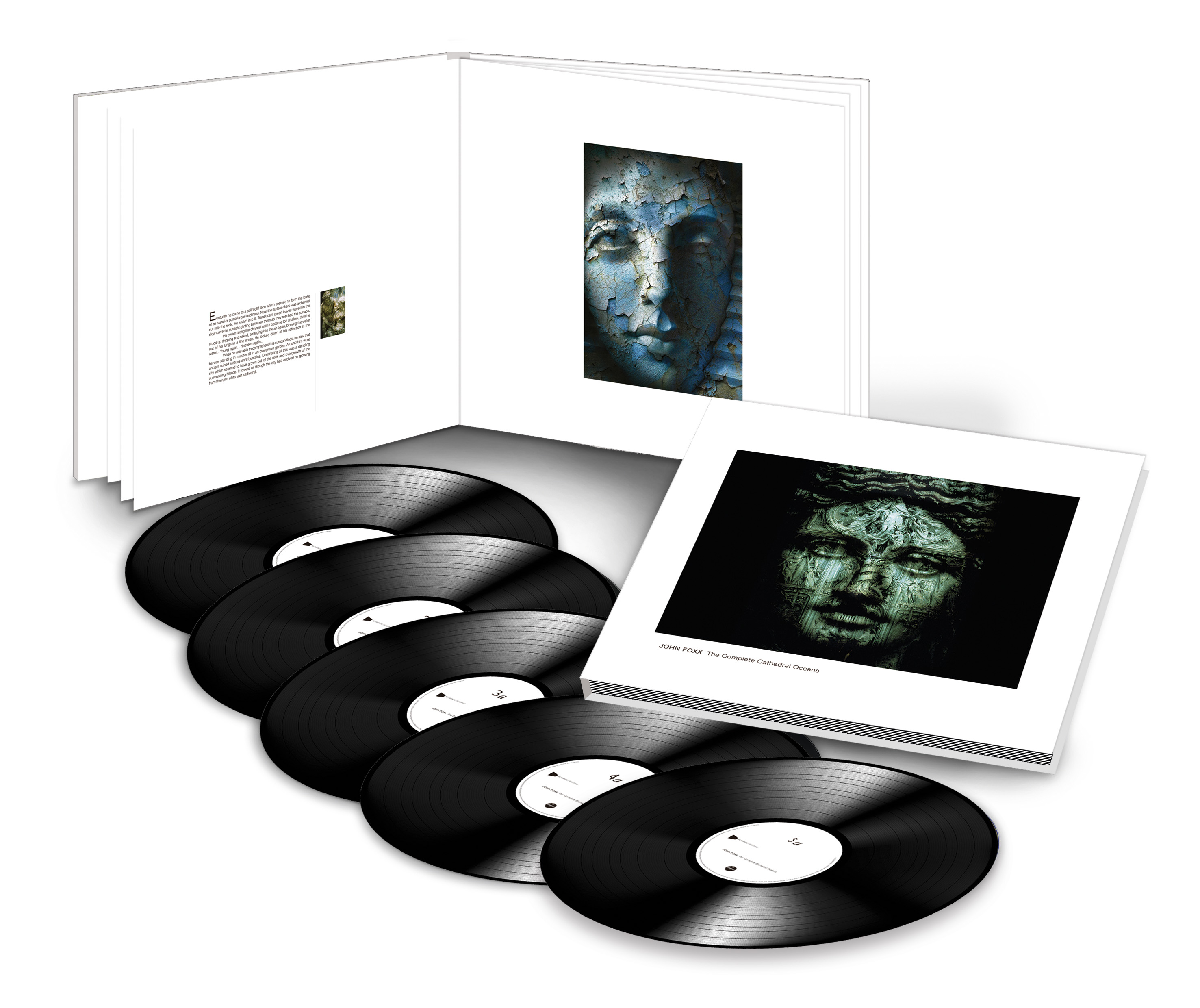John Foxx / The Complete Cathedral Oceans / deluxe 5LP book set