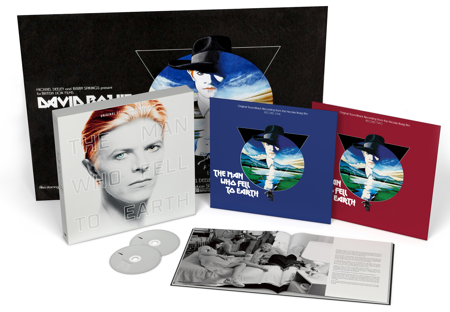 Man Who Fell To Earth '3D' packshot