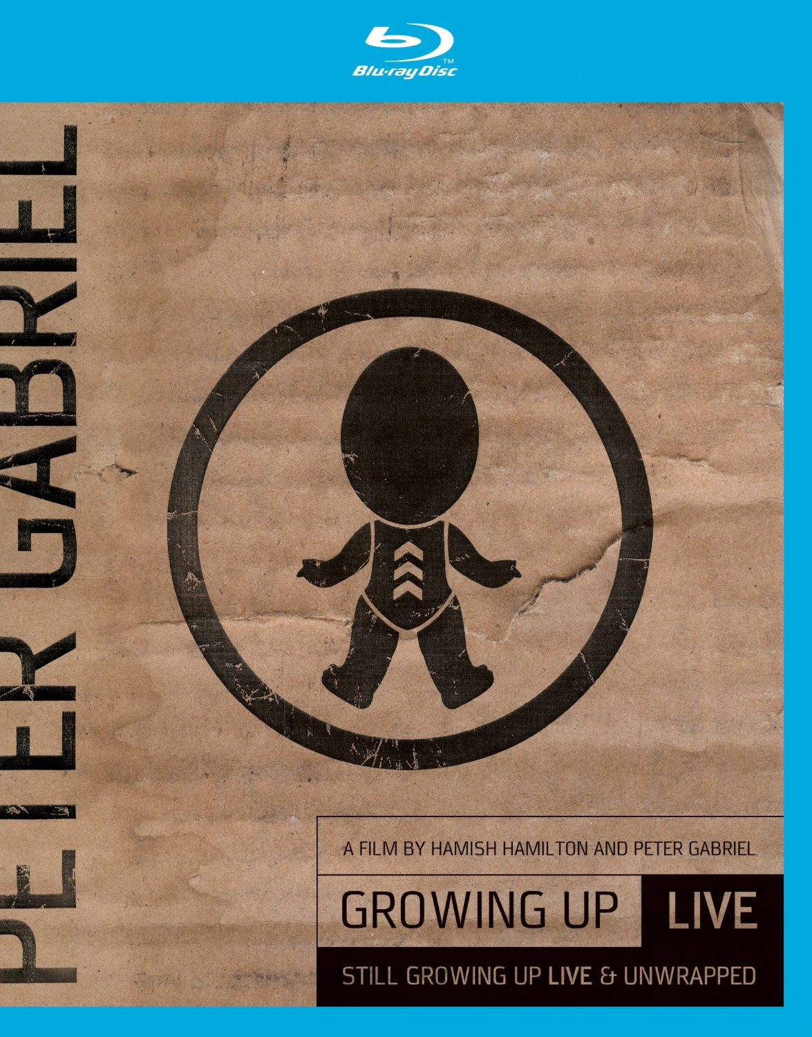 Peter Gabriel / Growing Up: Live blu-ray+DVD