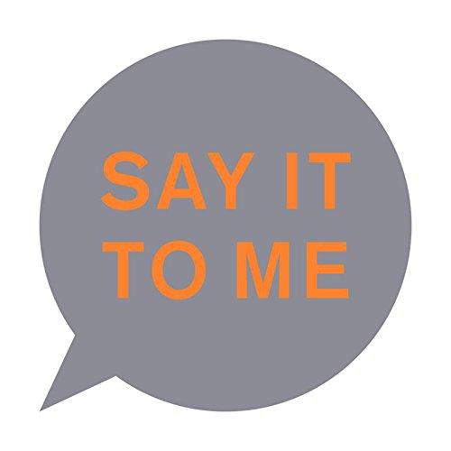 Pet Shop Boys / Say It To Me / 12-inch single