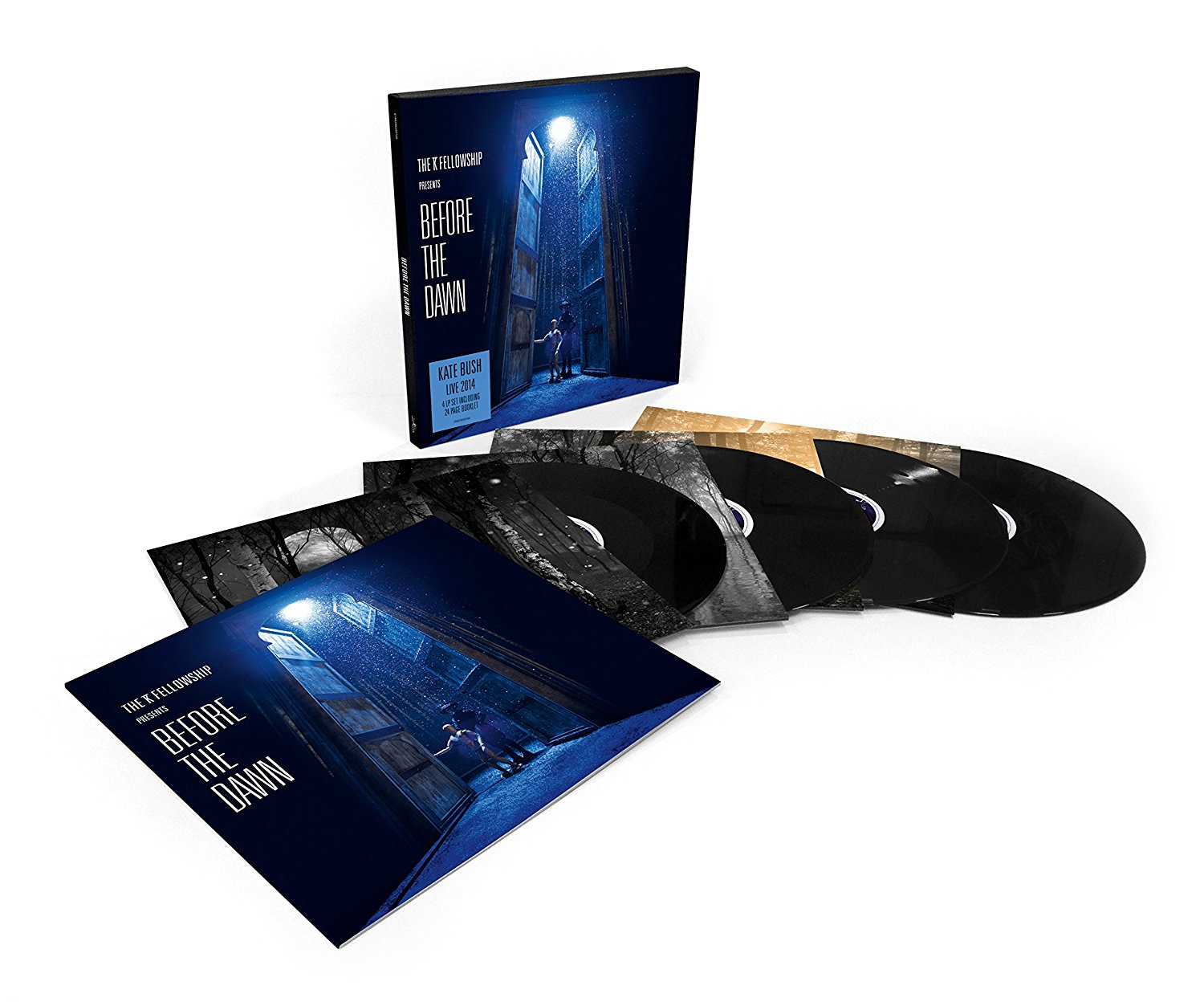 Kate Bush / Before The Dawn 4LP vinyl