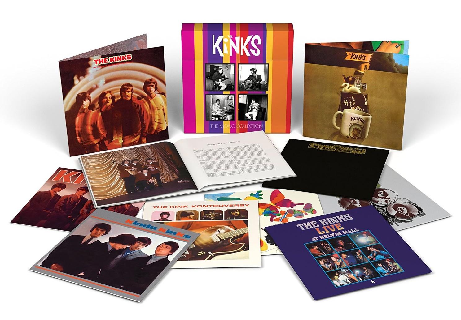 The Kinks / Mono Collection vinyl box