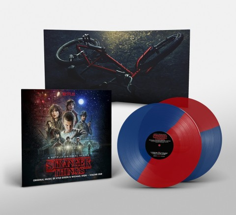 Stranger Things Vol 1 / 2LP coloured vinyl