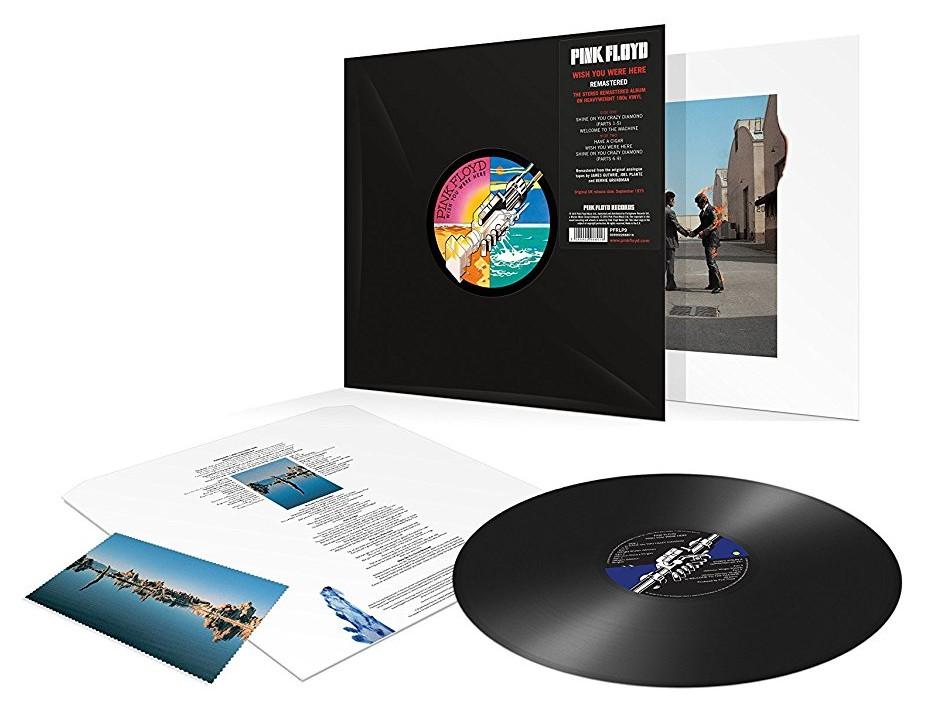 Pink Floyd / Wish You Were Here vinyl reissue
