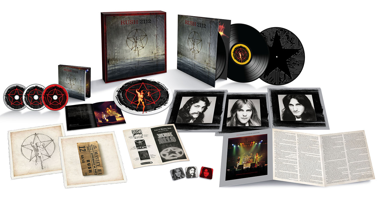 Rush 2112 / 2CD+3LP+DVD super deluxe edition