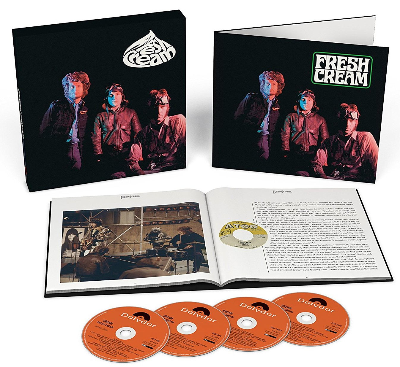 Cream / Fresh Cream super deluxe edition reissue