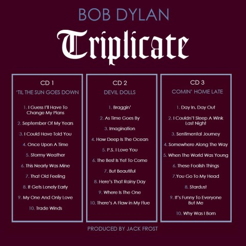 Triplicate-Tracklist