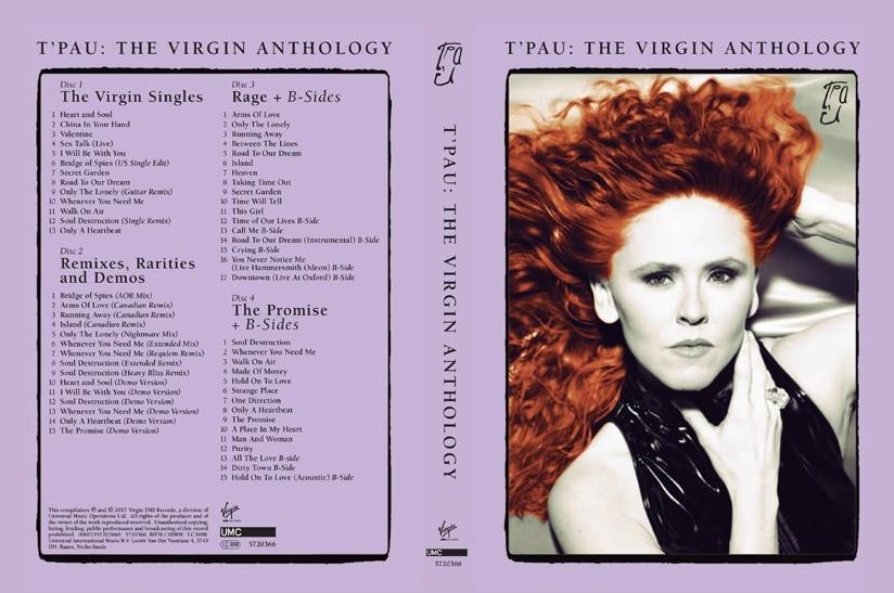 T'Pau / The Virgin Anthology 4CD deluxe set