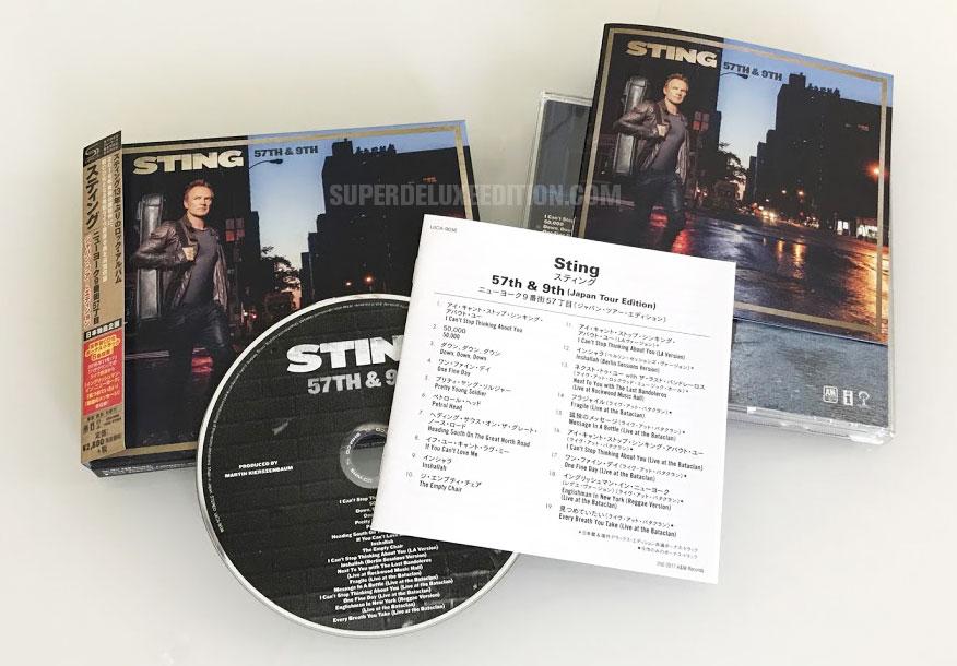 Sting / 57th & 9th: Japan Tour Edition