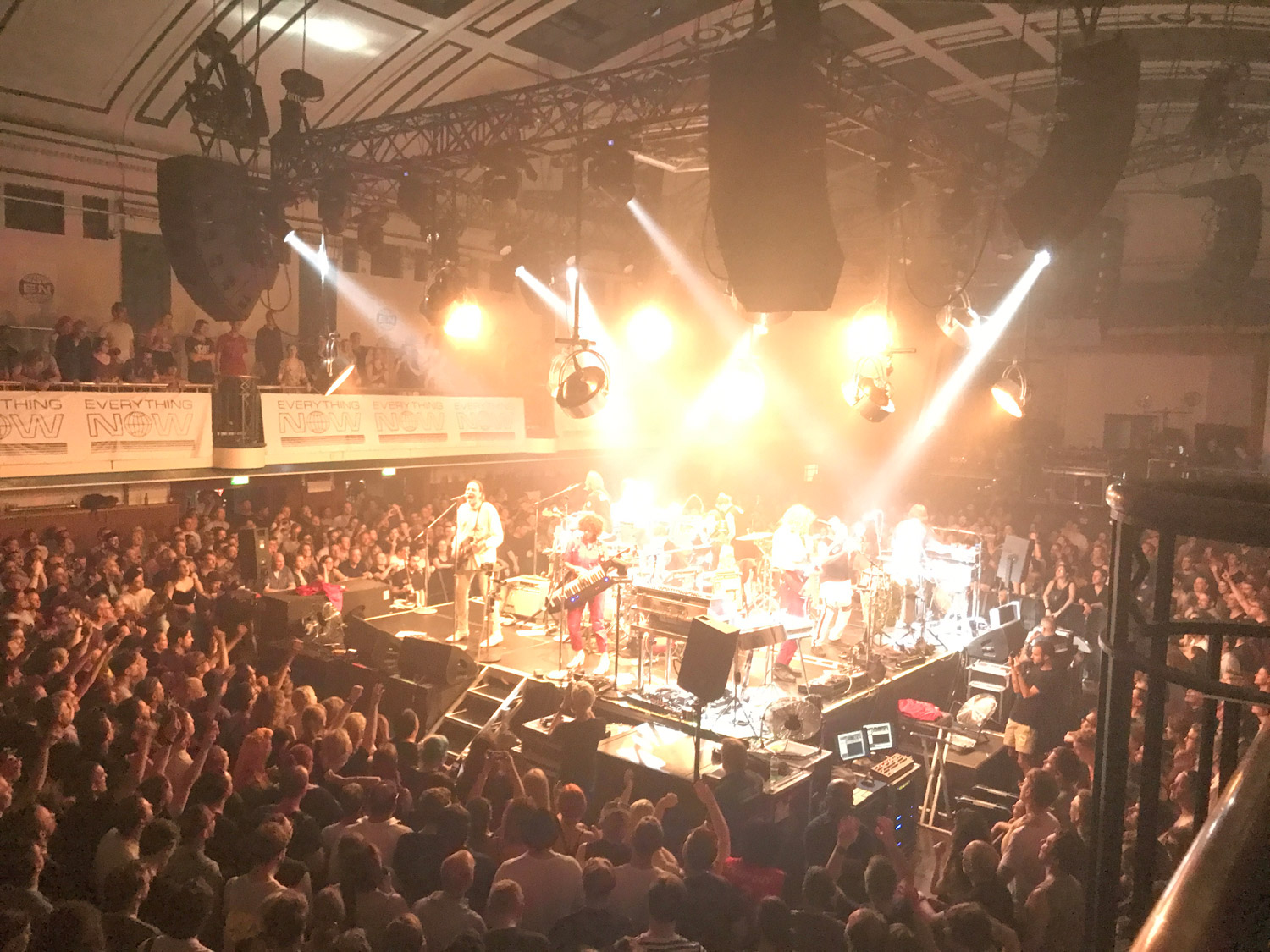 Arcade Fire / Live at York Hall, London on 5 July 2017
