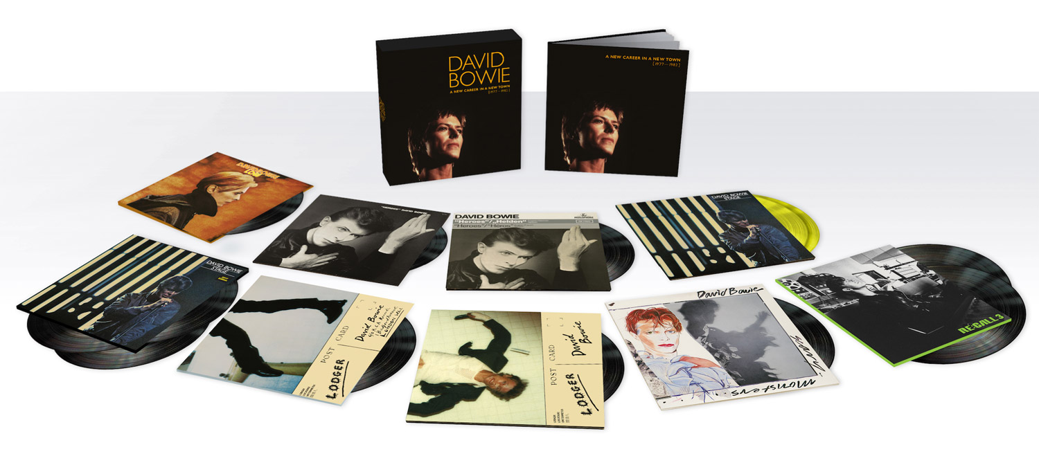 David Bowie / A New Careeer In A New Town 1977-1982 / 13LP vinyl box
