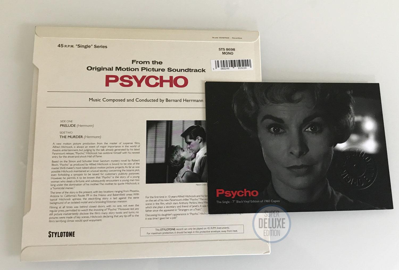 Bernard Herrman / Psycho seven-inch single