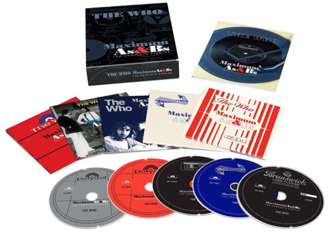 The Who / Maximum As & Bs: The Complete Singles - 5CD box set