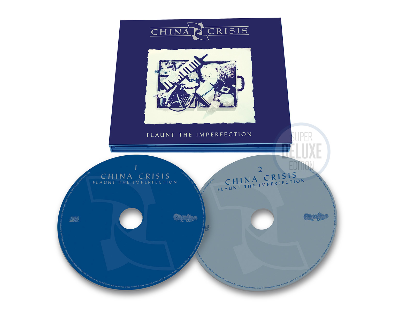 China Crisis / Flaunt the Imperfection 2CD deluxe reissue